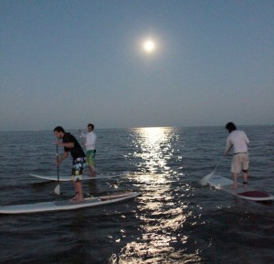 Luna llena y Stand Up Paddle