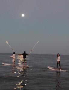 Siguiendo la luna llena en San isidro