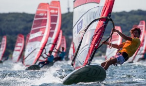 Volvo Gdynia Sailing Days 2015 - RS:X Youth Worlds || 2015-07-14, Gdansk Bay, Gdynia, Polska || © Copyright 2015 || Robert Hajduk - ShutterSail.com || All Rights Reserved ||