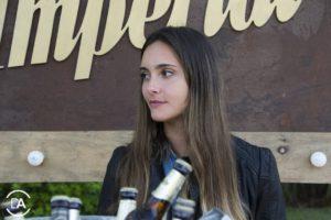 Nuestra promotora de Cerveza Imperial