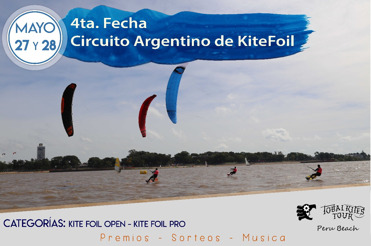flyer kite foil peru beach mayo